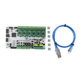 RUMBA Mainboard 32Bit 3D Printer Mainboard + A4988 Stepper Motor Driver Kit for 3D Printer