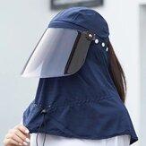 Ayarlanabilir Güneş Şapka Büyük Saçak Nefes Alabilir Şapka