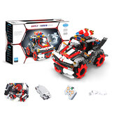 491PCS MoFun M20 DIY 2.4G Block Building Programmabile APP / bastone Controllo Smart RC Robot Car