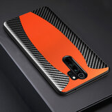 Bakeey for Xiaomi Redmi Note 8 Pro Case Sports Car Pattern Design Carbon Fiber Leather Protective Case Non-original