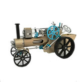 Teching DM34 Stoomauto Model Stirling Engine Volledig metalen model Toy Collection Gift Decor