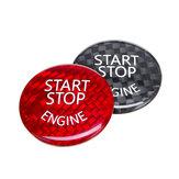Start Stop Moteur Bouton Interrupteur Couverture En Carbone Pour BMW E60 E90 E91 E92 E93 Série 3