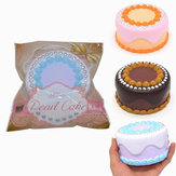 Kiibru Squishy Jumbo Pearl Cake 12x7cm Licensed Slow Rising Original Packaging Collection Gift Decor Toy