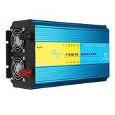 2000W DC 12V / 24V a AC 110V / 220V Inversor de onda sinusoidal pura Coche LCD Solar Convertidor de potencia