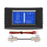 PZEM-015 Batería Probador Voltaje CC Corriente Capacidad de potencia Resistencia interna y externa Medidor de electricidad residual con derivación de 100A