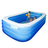 305cm 4 layer Family Inflatable Swimming Pool PVC Indoor For Kid Children Adult Swim