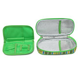 Draagbare geneeskunde Diabetische insuline Cooling Pouch Koeler Ice Pack Bag Travel Case