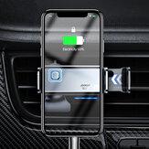 Joyroom 200mAh 360 ° Rotating Car Carregador sem fio Gravity Linkage Auto Lock Air Vent Dashboard Suporte de telefone para iPhone 11 para Samsung Galaxy S20 10 telefones 4,7-6,5 polegadas