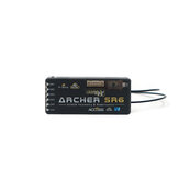FrSky ARCHER SR6 OTA 2.4GHz 6/24CH ACCESS S.Port/F.Port PWM SBUS Output Full Range Telemetry & Stabilization Receiver for RC Drone