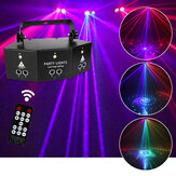 Laser LED Light Remote 9-EYE RGB DMX Projector Strobes DJ KTV Disco Stage Light