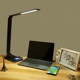 LED письменный стол Лампа настольный сенсорный светильник для чтения офис кабинет защитные очки Лампа AC220V