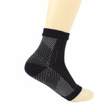 1 Pair Foot Sleeve Compression Sock Sore Wear Foot Relieves Plantar Fasciitis