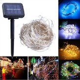 Solar Powered 20M 200LEDs Copper Wire Fairy String Light for Christmas Wedding Patio