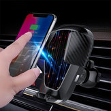 Supporto per presa d'aria del caricatore del telefono auto wireless per iPhone xsmax 8 S9