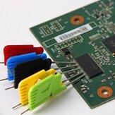 10Pcs SDK08 Clip di prova Pinze SMD Clip di prova Clip ultra piccola Clip per piedini Micro chip Clip di masterizzazione online