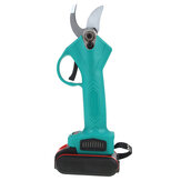 Electric Cordless Rechargeable Pruning Garden Shears Secateur Cutter With Two Batteries