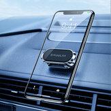 KUULAA KL-O172 Uniwersalny magnetyczny lepki uchwyt na telefon komórkowy Obrót o 360 ° Deska rozdzielcza samochodu ze stopu cynku Stojak na telefon ścienny do Samsung Galaxy S21 POCO M3