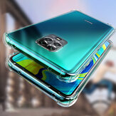 Bakeey for Xiaomi Redmi Note 9 Case Air Bag Shockproof Lens Protect Transparent Non-yellow Soft TPU Protective Case