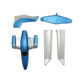 GD-006 RC Airplane Spare Part EPP Fuselage & Main Wing & Tail Wing Set