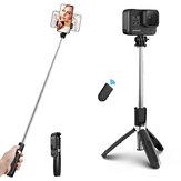ELEGIANT EGS-06 Selfie estensibile bastone Mini treppiede bluetooth con controllo remoto per GoPro Action Sport fotografica per iPhone per Samsung per cellulare DSLR Cam