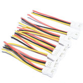 10 PCS JST-SH 1.25mm 3Pins 3P Soft Silicona Cable de conexión de enchufe Alambre para RC Drone FPV Racing