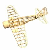 Mini Zero Fighter 400mm Envergadura Balsa Wood Láser Cut RC Airplane KIT