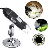 1600X 8LED 2MP USB Zoom Digital Microscope Hand Held Biological Camera