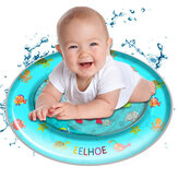 PVC Inflatable Swimming Air Mattress Water Cushion Baby Kids Infant Toddlers Tummy Water Play Fun Toy Ice Mat Pad
