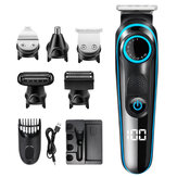 100-240V Rechargable Hair Clipper Multifunctional Hair Trimmer Electric Shaver Razor For Face Beard Moustache Barber.