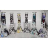 Бак дыма дренажа высокой комбинации бутылки с водой боросиликатного стекла конический низкий