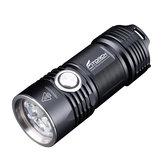 Fitorch P25 4x XPG3 LEDs 3000LM 5 Modes IPX-8 Waterproof LED Flashlight 26350 Li-ion Battery