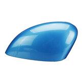Niebieska zaślepka lusterka bocznego niebieska do Fiesta MK7 2008-2017