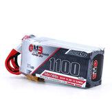 Gaoneng GNB 11.4V 1100mAh 50C 3S Lipo Battery XT30 Plug for RC Racing Drone