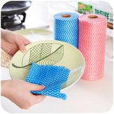 Kitchen Cleaning Nonwoven Cloth Disposable Cleaning Cloth Bowl Cuci Kain