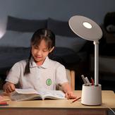 Baseus Luz de lectura de espectro completo Fuente de luz dual AAA Escritorio de escritura y lectura táctil inteligente Lámpara