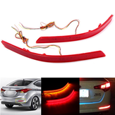 2 Pcs LED Amortecedor Traseiro Refletor Fog Light Brake Lamp para KIA Optima K5 2014-2015