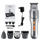 5 in1 Mutifunction Electric Hair Clipper Rechargeable Lavable Nez Hair Hair Beard Trimmer Shaver