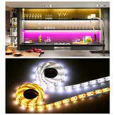 0.5/1/2/3/4/5M USB LED Strip Lights Stepless Dimming Home Decoration Lamp+Remote Control