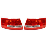 Car Rear Right/Left Tail Light Red Lamp Shell for Audi A6 S6 Quattro No Bulbs 2005-2008