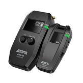 AROMA ARG-06 Sistema de Transmissão de Áudio de Guitarra Sem Fio Receptor Transmissor Bateria para Baixo da Guitarra Elétrica