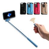 Creative All In One Gậy chụp ảnh tự sướng bluetooth di động với Vỏ bảo vệ điều khiển từ xa cho iPhone 7/8/7 Plus/8 Plus