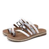 LOSTISY dames teenring strappy comfortabele comfortabele sandalen
