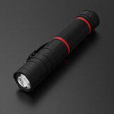 [GELEN] 3'ü 1 arada 310lm Kızılötesi L-şekilli LED El Feneri 180 ° Kafa Ayarlanabilir Far Blacklight Manyetik Çalışma Işığı