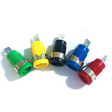 5 Pcs 4mm Banana Plugs Femme Jack Socket Plug Connecteur de Fil 5 Couleurs Chaque 1pcs Multimètre Socket Banana Head Femme