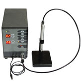 110V/220V Stainless Steel Spot Welding Machine Automatic Numerical Control Touch Pulse Argon Arc Welder for Soldering Jewelry