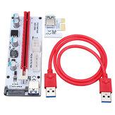 VER 008S USB3.0 PCI-E Express 8GPU Grafik Kartları için 1x - 16x Uzatma Kablosu Uzatıcısı Yükseltici Kart