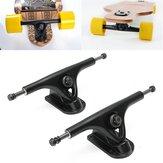 Camiones de skate de 2 piezas Longboard forjado Hollow Cross Trucks al aire libre Ciclismo