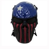 Tactical Warrior Militaire oorlogsspel Paintball CS Veldapparatuur Airsoft volgelaatsmasker