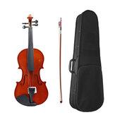 Violon acoustique 4/4 avec archet pour violon débutant
