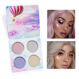 4 Colors Highlight Shimmer Glitter Eye Shadow Palette